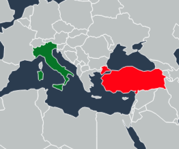 From Turkey And Ship To Italy